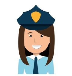 Police officer cartoon graphic design vector