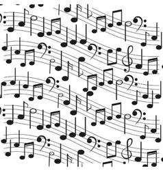 Sheet music icon vector