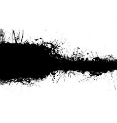 black band blank vector image