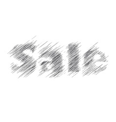 Pencil inscription word sale create one touches vector