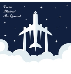 Abstract Bqackground with Plane vector image