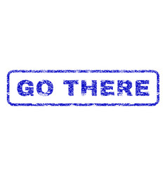 Go there rubber stamp vector