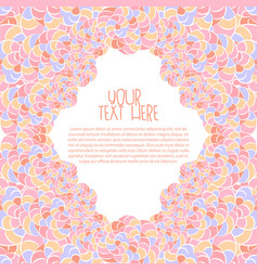 invitation greeting card background vector image vector image