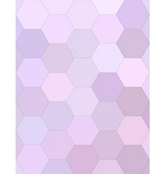 Light purple hexagonal honey comb background vector