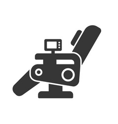 massage chair icon vector image