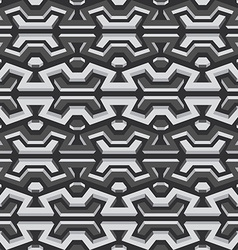 metallic seamless pattern vector image vector image