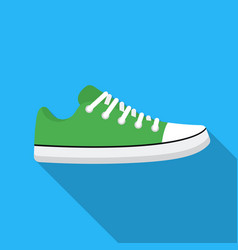 gumshoes icon in flat style isolated on white vector image