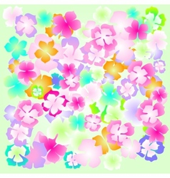 Background flower abstract design floral  plant vector