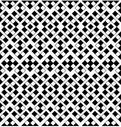 Abstract geometric seamless pattern from black and vector