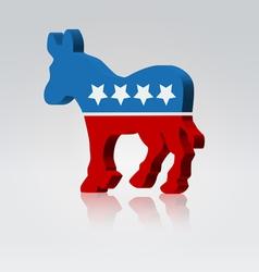 vote mule vector image