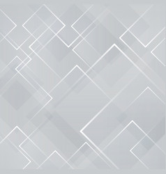 abstract gray and white square shape technology vector image vector image