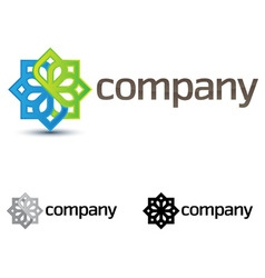 company design element vector image vector image