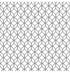 Seamless pattern thin vertical wavy lines mesh vector
