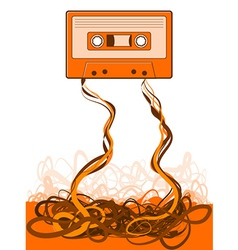 Old skool tape vector