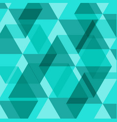 abstract green geometric template background vector image vector image