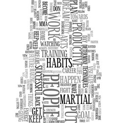 your habits will determine your future text word vector image