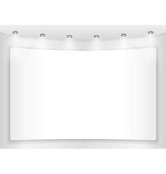 Placard vector image