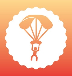 Parachute flight vector