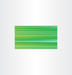 Green business card background gradient template vector