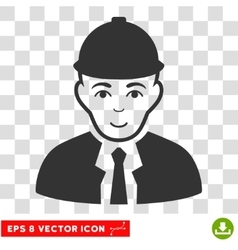 Engineer eps icon vector