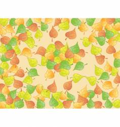 leaf abstract vector image vector image