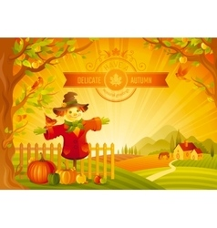 Thanksgiving day of beautiful vector