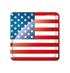 America usa flag vector