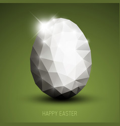 Modern easter egg vector