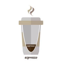 espresso vector image vector image