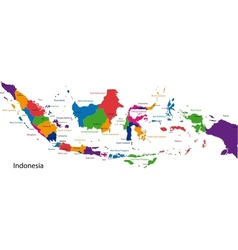 Republic of Indonesia vector image vector image