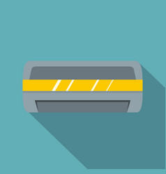 Cool and cold climate control system icon vector