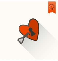 Happy valentines day icon vector