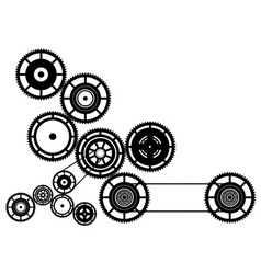machinery vector image