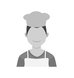 Chef male vector
