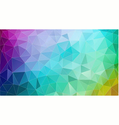 abstract triangle geometric colorful background vector image vector image