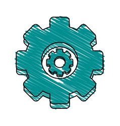Gear wheel vector