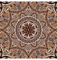 Henna mandala seamless pattern vector