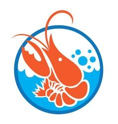 Lobster logo vector