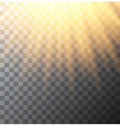 Modern sun background sunshine design vector