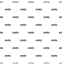 Tram pattern simple style vector