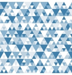 Abstract geometric background Mosaic vector image vector image