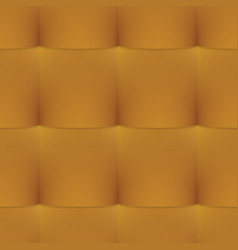 Gold buttoned leather seamless pattern vector