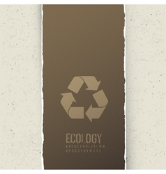 Ecology themed abstract background vector