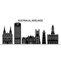 Australia adelaide architecture city vector