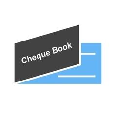Cheque book vector