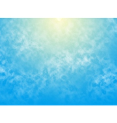 sunsky vector image vector image