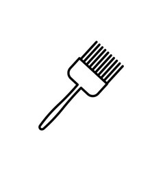 kitchen brush icon vector image