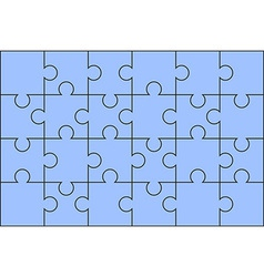 Puzzle solved vector