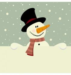 winter theme vector image