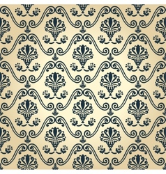 Seamless wallpaper decor vintage abstract vector